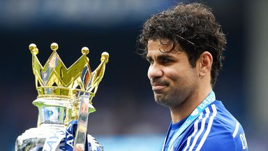 Diego Costa's goals helped Chelsea to title glory but he has been struggling with injury this year