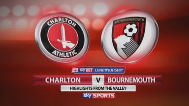 Charlton 0-3 Bournemouth