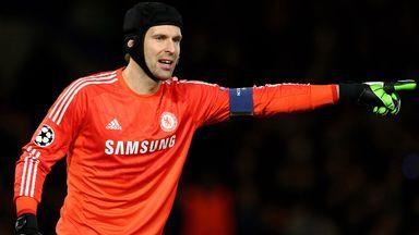 Petr Cech: Starts in goal