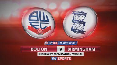Bolton 0-1 Birmingham