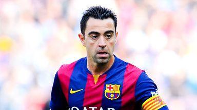 Xavi has enjoyed a remarkably successful career at Barcelona