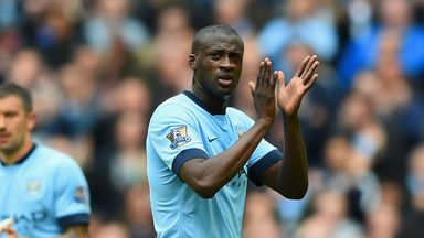 Yaya Toure: Appreciated fans