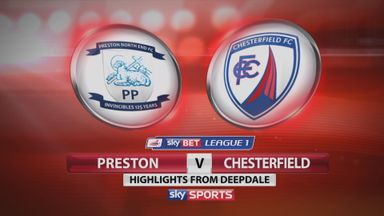 Preston 3-0 Chesterfield