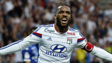Lyon forward Alexandre Lacazette wants to play Champions League football next season