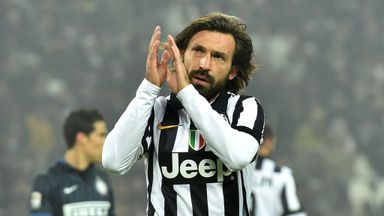 Andrea Pirlo: Leaving Turin for New York after four years with Juventus