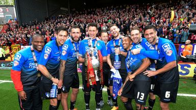 Bournemouth stars celebrate the title
