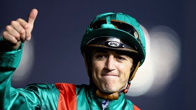 Christophe Soumillon has picked up the ride on Avenir Certain
