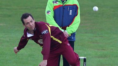 Con de Lange: Former Northants spinner to play for Scotland