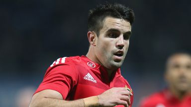Conor Murray: Scored a hat-trick as Munster crushed the Dragons