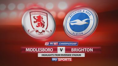 Middlesbrough 0-0 Brighton