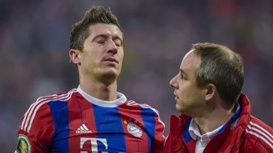Lewandowski: Broke nose and cheekbone in collision with Dortmund