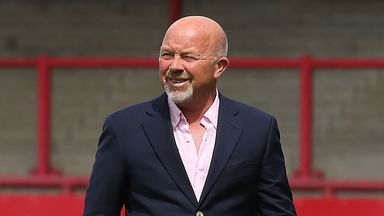 Burnley's new sporting director Frank McParland
