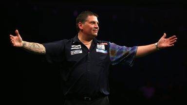 Gary Anderson wins the Premier League darts title