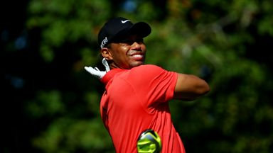 Tiger Woods: Back in action this week for the first time since The Players Championship