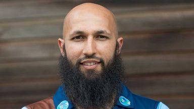 Hashim Amla: His innings saw Derbyshire to victory