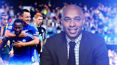 Thierry Henry: says Hull are playing Manchester United at the perfect time