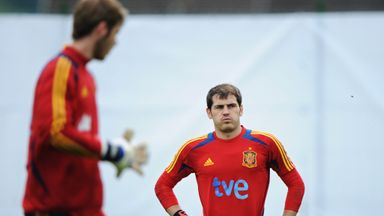 Iker Casillas: Confident he can keep his place ahead of De Gea