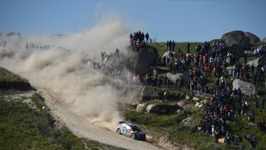 Jari Matti Latvala of Finland won the Rally of Portugal on Sunday