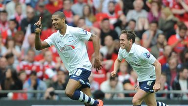 Jermaine Beckford: Reveling in Wembley heroics