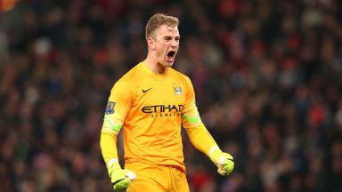 Joe Hart: Hailed by City boss Pellegrini