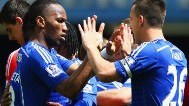 John Terry: Hopes Chelsea offer Didier Drogba a new contract
