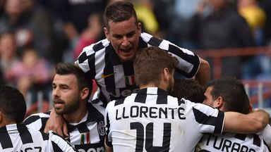 Juventus made it four titles in a row in Serie A