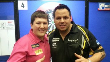 Keegan Brown beat Adrian Lewis to win his first ProTour title