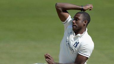 Keith Barker: Nine wickets in match for Warwickshire seamer