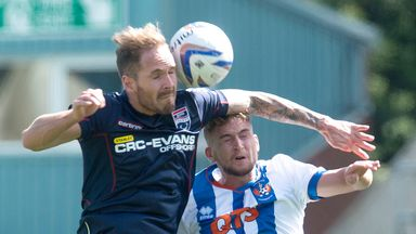 Martin Woods: Quick return to Ross County