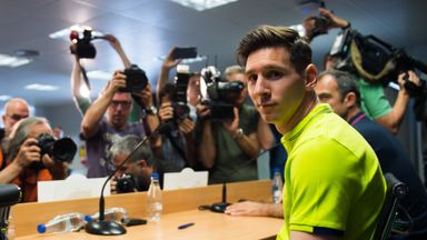 Lionel Messi: At Tuesday