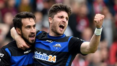 Lukas Rupp grabbed two goals for Paderborn