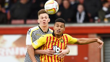 Lyle Taylor should be available for AFC Wimbledon