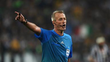 Martin Atkinson: Will referee Europa League final in Warsaw
