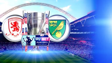 Middlesbrough v Norwich: Live on Sky Sports 1