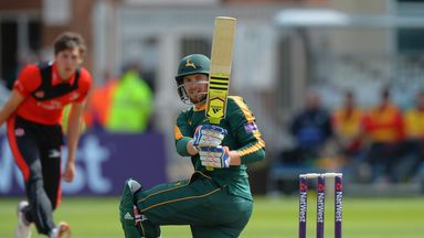 Riki Wessels smashed 12 boundaries and seven sixes