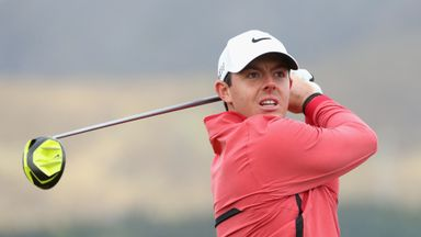 Rory McIlroy: In danger of missing the cut at the Irish Open