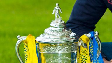 Scottish Cup trophy: Damaged during photocall in Inverness