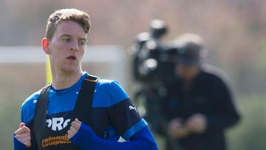 Tom Walsh: Rangers midfielder not giving up