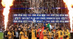 Sky Bet League 2 play-off final photo gallery
