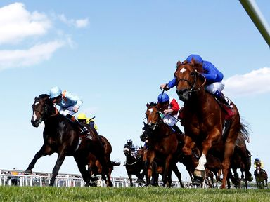Night Of Thunder leads Toormore home in the Al Shaqab Locking Stakes