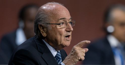 Sepp Blatter: Has been re-elcted as FIFA president