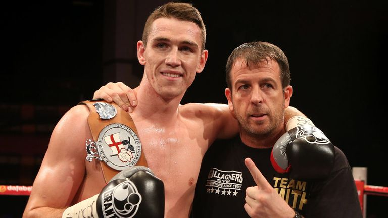 Joe Gallagher (right) says Callum Smith will not be bullied by Rocky Fielding