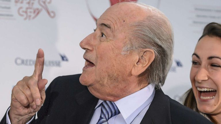 Sepp Blatter: Remains in the presidential office for the time being