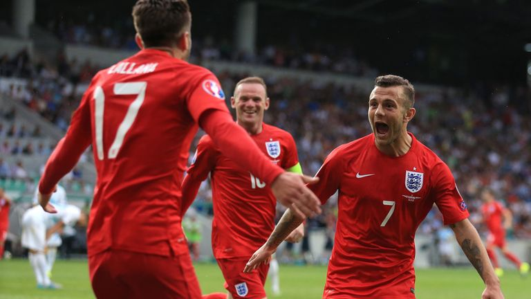 Jack Wilshere: Fired his first international goal
