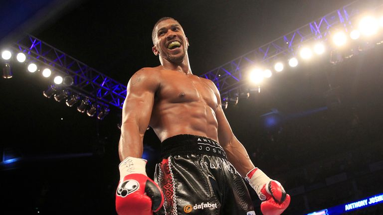 Anthony Joshua sets sights on next opponent