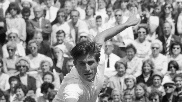 Charlie Pasarell, Wimbledon 1967