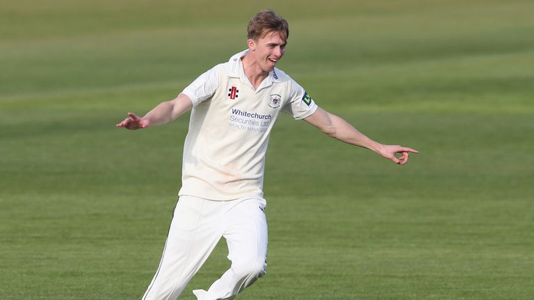Craig Miles: Gloucestershire bowler has taken 10 Lancashire wickets