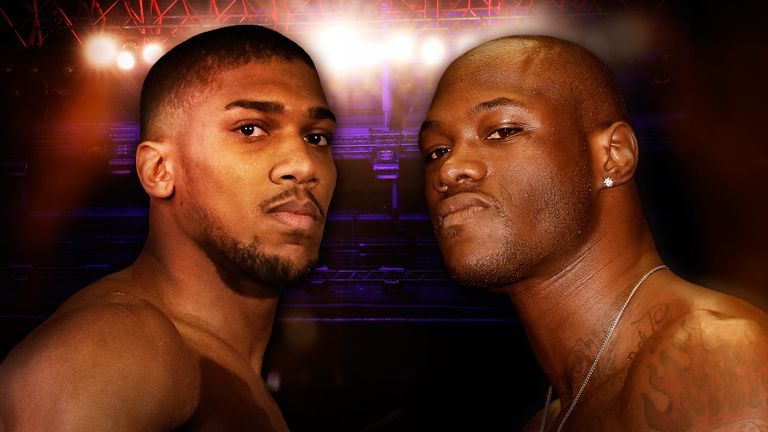 Anthony Joshua and Deontay Wilder could share the ring at the end of 2017