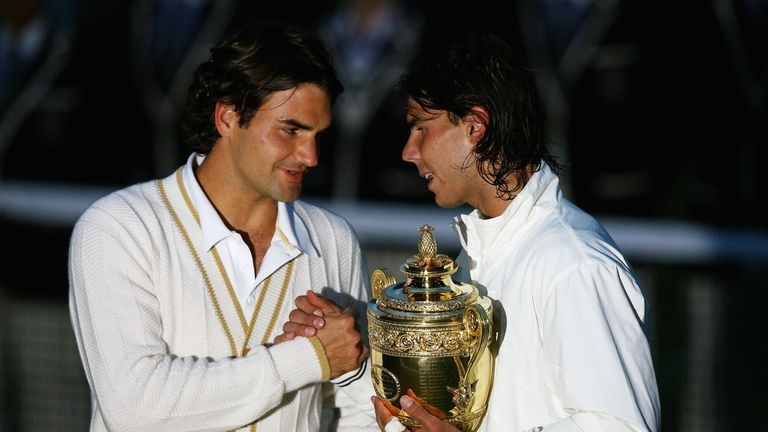 Rafa Nadal and Roger Federer contested arguably the greatest match ever in 2008
