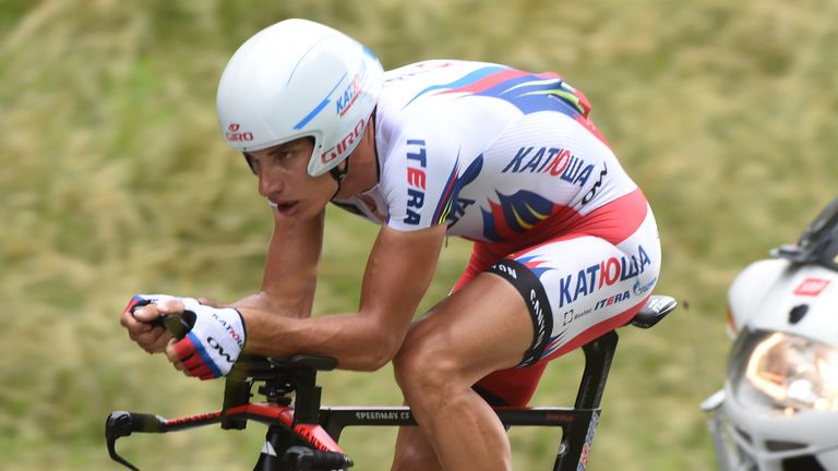 Simon Spilak has an excellent record at the Tour de Romandie